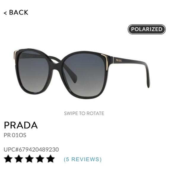 d82a5fe8a96 Prada PR 01OS Polarized Sunglasses. M 5afb23c145b30c9391fce034. Other  Accessories ...